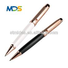 Beautiful design promotional metal pen, Promotional gift pen with logo, black shiny metal pen MDS-B2011
