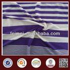 New Pattern Summer Purple White Y/D Stretch Single Jersey Stripe Knit Fabric In Stock