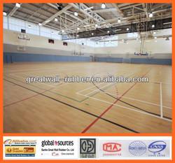 2014 Hot Sale PVC Sports flooring/Basketball Flooring