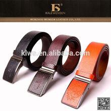 2015 Newest original leather honest unique mens luxury belts