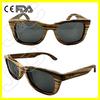 2014 wayfarer wood sunglasses in China and custom wood sunglasses with polarized lens