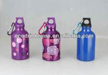350ml aluminium water bottle
