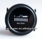 New product!Free shipping RL-BI002 Round LED Battery Indicator 12v 24v 36v 48v 72v RV'S Golf cart scooter car boat vehicle