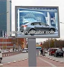 Street Furniture Advertising Scrolling Billboard Mega