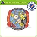 Logotipo do bordado personalizado, militar patches bordados para roupas