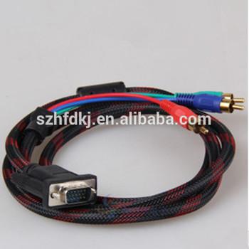 china wholesale vga rca for VGA RCA S-Video cable ,rca to vga converter made in china