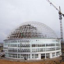UAE/KSA Steel Space Truss Girder Design
