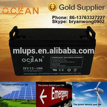 2015 High Quality 12V 200Ah Lead Acid Battery AGM Battery VRLA Battery for Solar engergy system