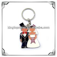 custom metal wedding favors key chain