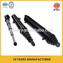Multi etapa de telescópica cilindros hidráulicos para tipping camión / cilindro hidráulico fabricante