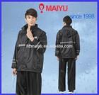 adult breathable waterproof reflective tape rain coat