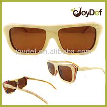 Custom Fashion Celebrity Natural Skateboard Wood Sunglasses