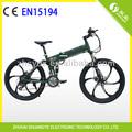 baratos alumínio dobrável bicicletas elétricas 50km