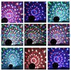 6 Colors 6x3W led magic crystal ball party light