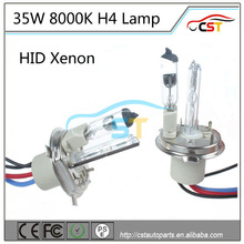 Top quality Cnlight H4 35W HID Xenon lamp/h4 low halogen high xenon hid lamp