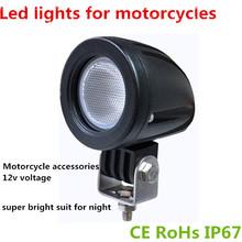 2x 10w Cree LED Work light Spot Lamp Driving 12v Car 4x4 Motorcycle fog lights led