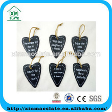 low price heart shaped slate art and craft DP-12P708P9HG2AP