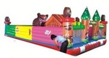 CE Passed!spongebob inflatable water slide