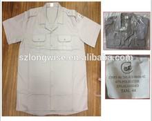 male plain shirts closeout H0402B men's short sleeves shirts overstocks