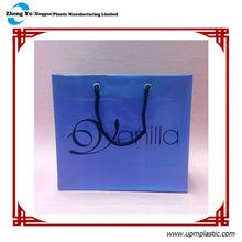 Customer Design Rope Handle Plastic Shopping Bag