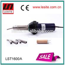 2014 Hot sale Lesite 1600W Welding equipment hot air gun geomembrane welder
