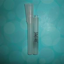empty glass perfume bottle in shape of pen - perfume bottle in 10ml for travel