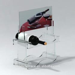 wine holder/acrylic wine display rack/wine bottle rack/wine rack/winerack/bar supplies