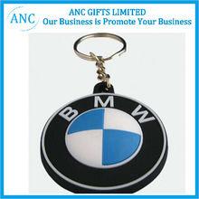 soft pvc rubber keychain wholesale custom promotional keychain