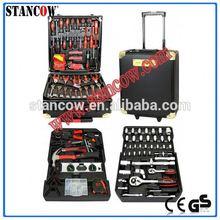 186 high quality tools(aluminium case tool set;186 tools)