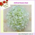 artificial branco solto cabeça flores grosso usado para a decoração do casamento