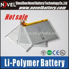 3.7v 2600mAh ge power lipo battery