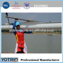 fiberglass racing rowing boat/rowing shell 1X