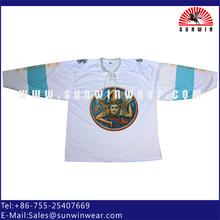 High quality custom dye sublimation ice hockey wear fashion styles your own design