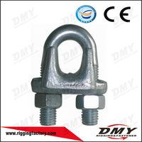 China Rigging Galvanized Wire Clamp Small