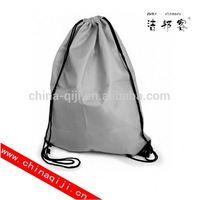 drawstring cotton canvas jute tote bag