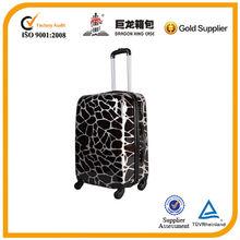 ABS PC trolley luggage /fashion suitcase/ trolley travel bag, new desigh hard case