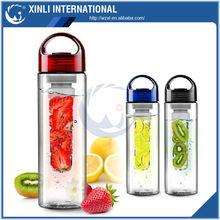 700ml bpa free tritan fruit infuser/lemon cap water bottle