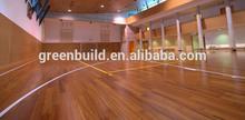Anti-slip Sports Flooring indoor basketball wood flooring