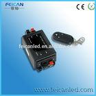 High quality mini 3 keys single color LED dimmer controller