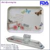 2014 New Inexpensive Best Anti Slip Rectangle Plastic Food Tray / Plastic Tray Wholesale