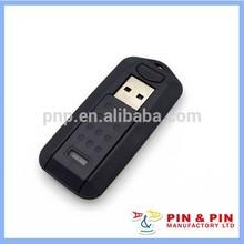 high quality practical zinc alloy black custom usb flash drive
