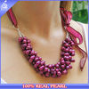 NK-00941 2014 new fashion jewelry chunky pearl necklace designs