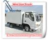 mini refrigerated van 500kg-1000kg,mini refrigerator truck,mini lorry van van truck