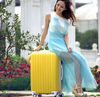 abs pc travel trolley;pc trolley luggage;Portable luggage case