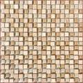 8mm mista de pedra mosaico de vidro para piscina azulejo