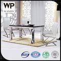 venda de uma fábrica branco quadrado preto granito redonda mesa de jantar