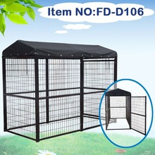 Outdoor comfortable pet cages dog kennel