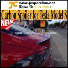2014 Global Latest Carbon Fiber Car Spoilers For Tesla Model S 85 P85