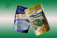 easy tear /zip lock plastic compounded food grade bag