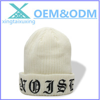 2014 latest High quality 100% acrylic custom warm beanie hat